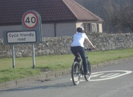 Cycle Friendly Road