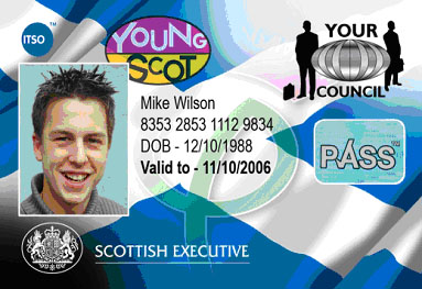 Sample Young Scot NEC