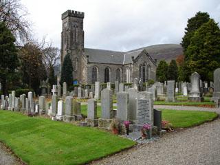 Cemeteries in Clackmannanshire