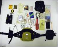 Ranger bum bag contents