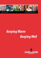 Keep Well Energy Booklet cover