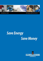 Save Energy booklet cover