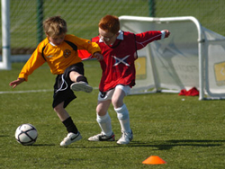 Children's football development