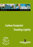 Carbon Footprint energy booklet cover