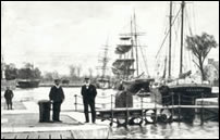 Alloa Harbour circa 1900