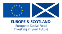 Europe & Scotland Social Fund logo