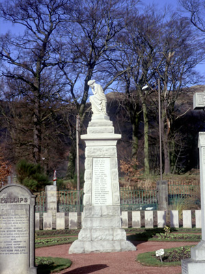 The Tillicoultry War Memorial